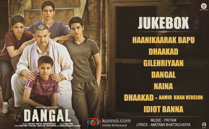 Dangal's Full Songs Jukebox Out Now!