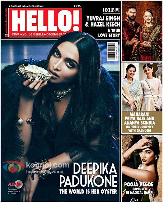 Deepika Padukone Looks Badass On Hello Cover!