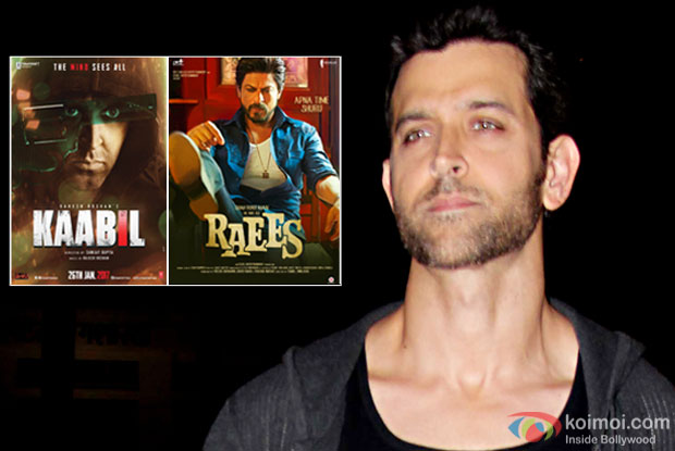 Hrithik Roshan Speaks on Kaabil - Raees Clash