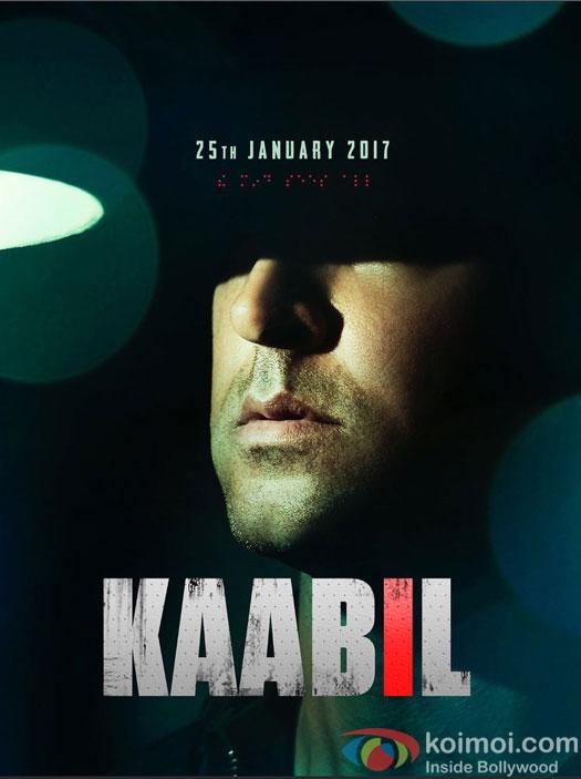 Hrithik Roshan's Kaabil New Poster