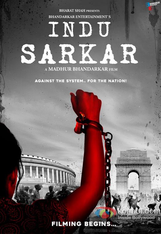 Indu Sarkar First Poster