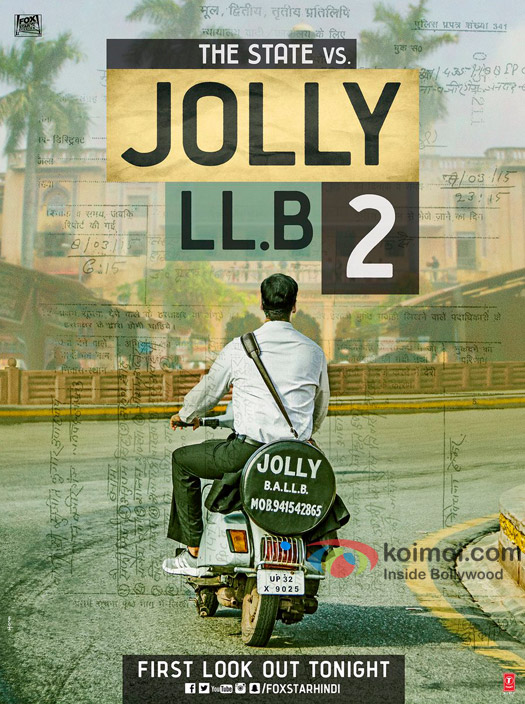 Akshay Kumar in a poster of Jolly LLB 2
