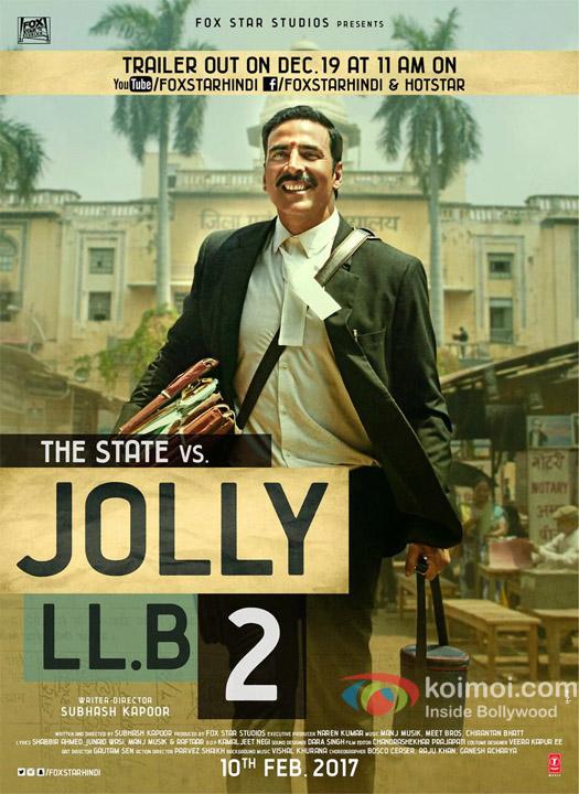 Jolly LLB 2 New Poster: Watch Akshay Kumar's Typical Lawyer Avatar
