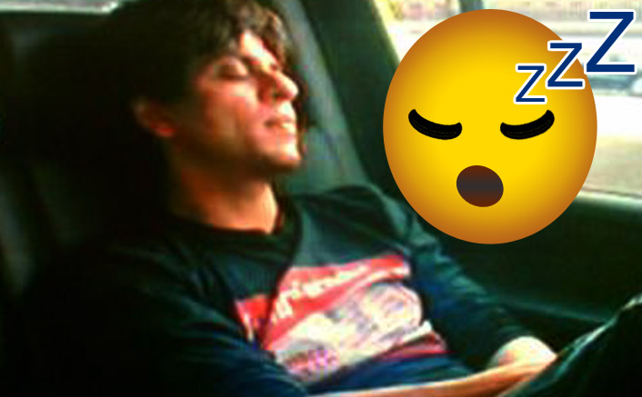 LOL! Shah Rukh Khan Sleeps In His Car After A Party