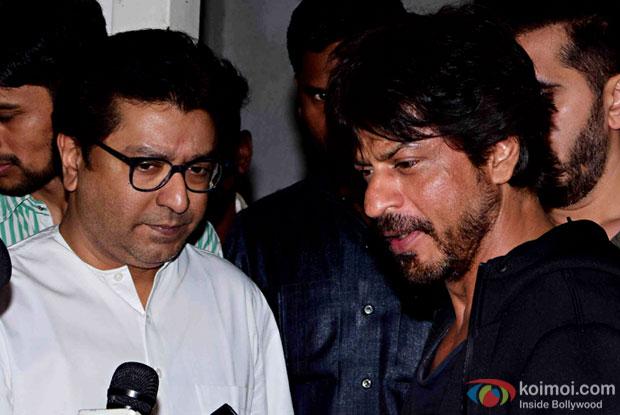 Mahira Khan not to promote 'Raees', SRK tells Raj Thackeray