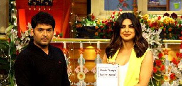 Priyanka Chopra at The Kapil Sharma Show