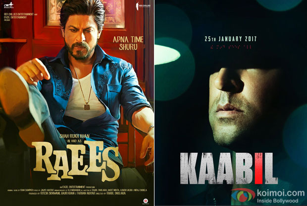 Raees & Kaabil's Advance Bookings Starts In A Few Circuits