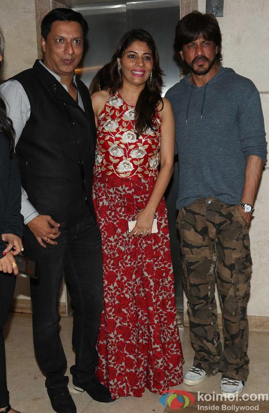Shah Rukh Khan attends Madhur Bhandarkar's house warming party