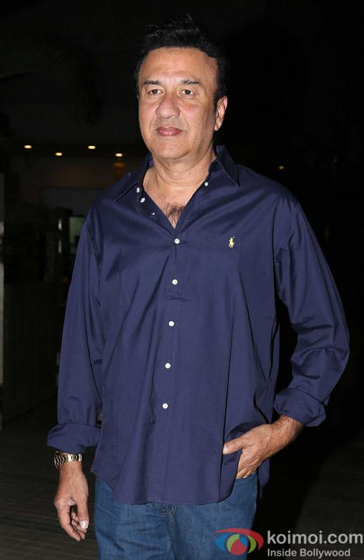 Anu Malik attends Madhur Bhandarkar's house warming party