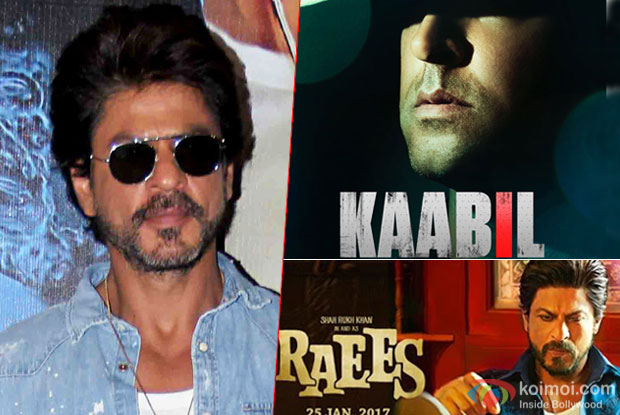 SRK talks about the Raees V/s Kaabil clash