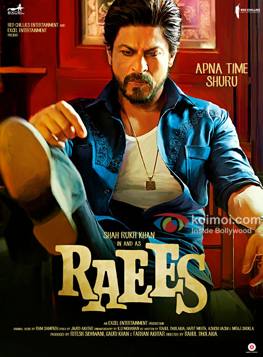Watch Shah Rukh Khan's Unique Look In The Brand New Poster Of Raees