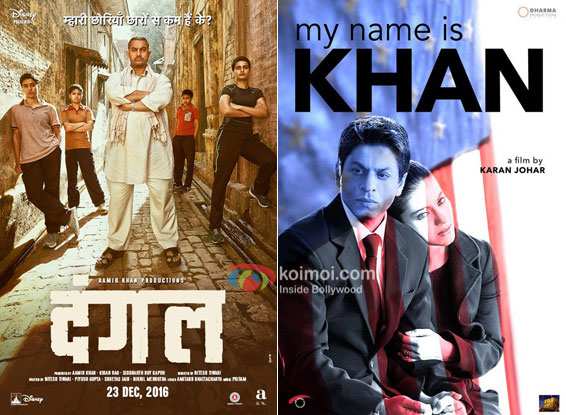 Dangal Beats My Name Is Khan; Becomes The 7th Highest Overseas Grosser