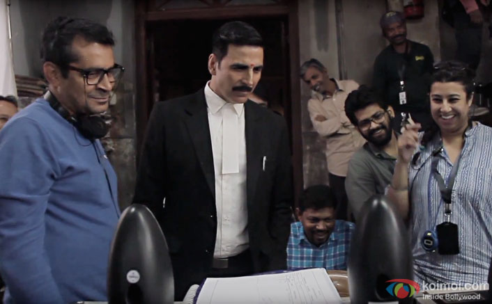Akshay Kumar's Super Fun On The Sets Of Jolly LLB 2 | Watch The Making!