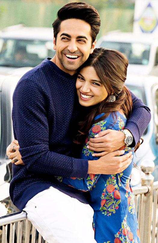 Bhumi, Ayushmann to star in 'Shubh Mangal Saavdhan'