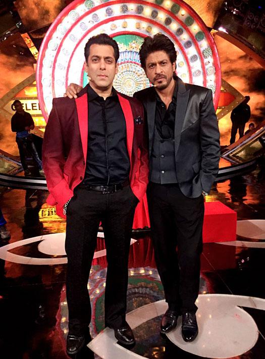 Bigg Boss 10 : SRK Meets Salman