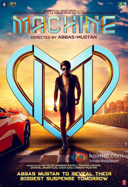 Check Out First Look Poster Of Abbas-Mustan's Next Machine