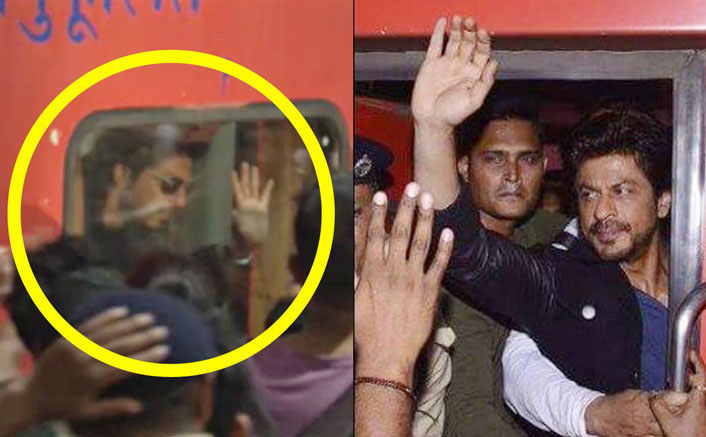 Early Footage Of The Controversial Train Ride Of Shah Rukh Khan