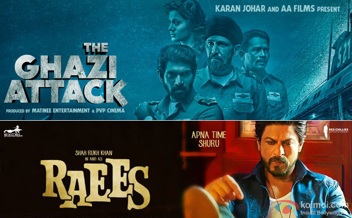 The Ghazi Attack's trailer will be attached to Raees release