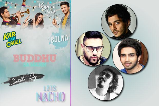 Kapoor & Sons: Amaal Mallik, Badshah, Tanishk Bagchi, Arko