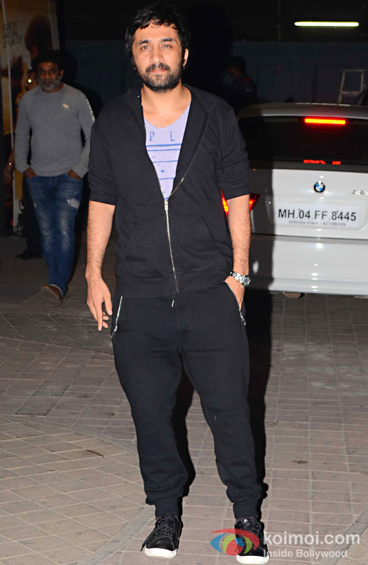 Siddhanth Kapoor during the screening of OK Jaanu