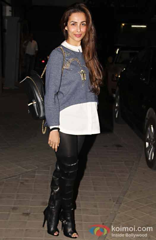 Malaika Arora Khan during the screening of OK Jaanu