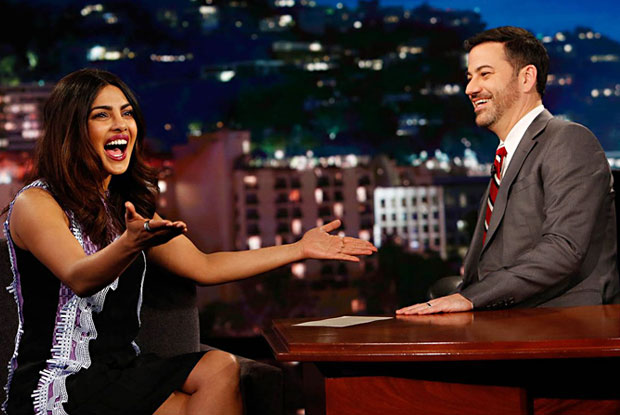 Priyanka Chopra appears on 'Jimmy Kimmel Live!'