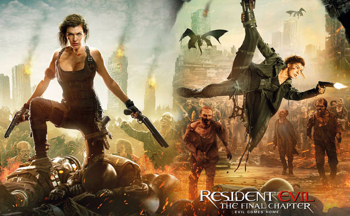 Resident Evil The Final Chapter S New Action Packed Posters Out