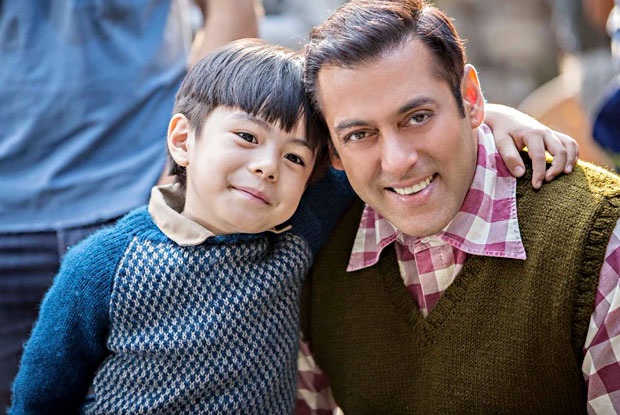 Salman introduces young co-star Matin Rey Tangu from 'Tubelight'