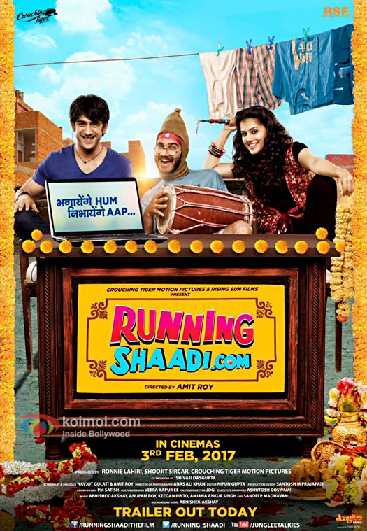 Running Shaadi.Com First Look Poster | Ft. Taapsee Pannu & Amit Sadh
