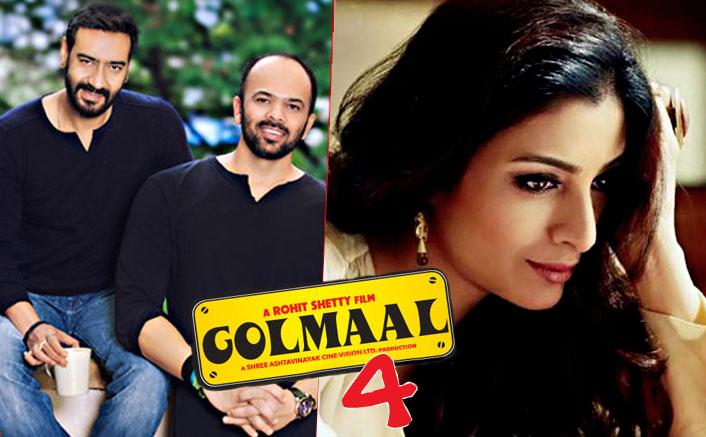 Tabu To Star In Ajay Devgn-Parineeti Chopra Starrer Golmaal 4