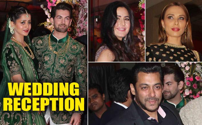 Salman Khan, Iulia, Katrina Kaif At Neil Nitin Mukesh & Rukmini Sahay's Reception Party