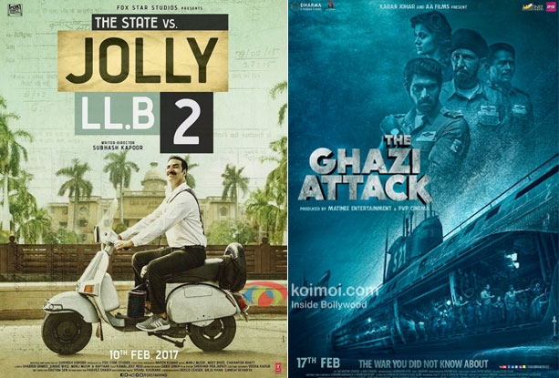 Box Office - Jolly LLB 2 and The Ghazi Attack continue to have decent footfalls