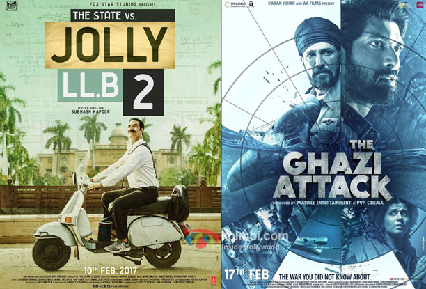 Box Office - Jolly LLB 2 and The Ghazi Attack - Weekend updates