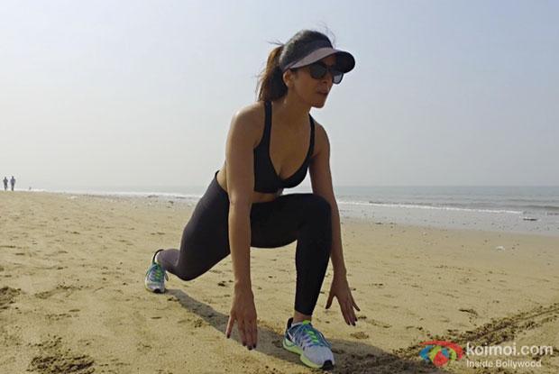 Nimrat Kaur's intense workout for Ekta Kapoor's ALT Balaji's new show!