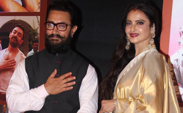 When Rekha brought tears in Aamir's eyes