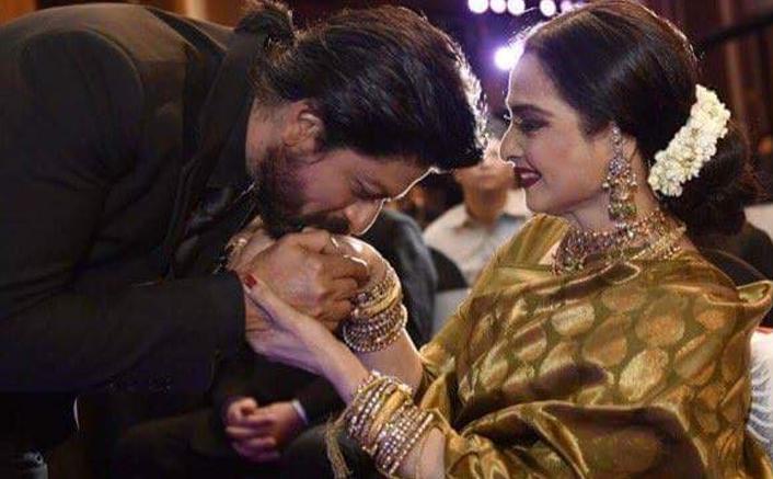 Rekha to give Yash Chopra Memorial Award to SRK