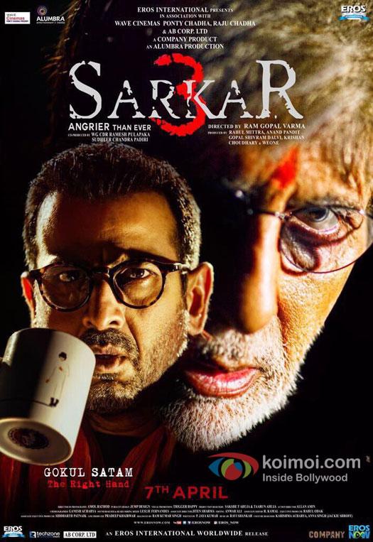 Sarkar 3 Character Poster: Ronit Roy As Gokul Satam - The Right Hand