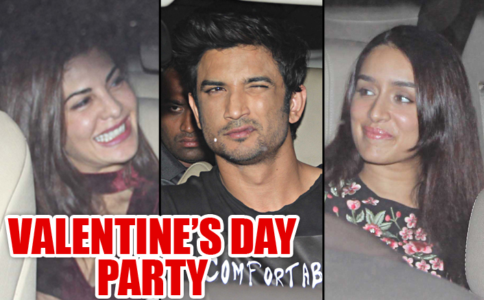 Bollywood Celebrities At Valentine's Day Party Hosted By Karan Johar