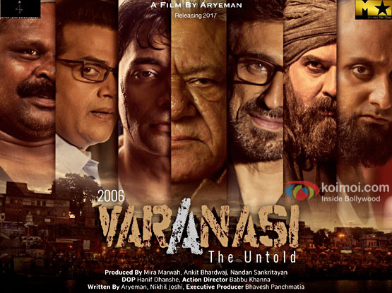 Check out the first look poster of 2006 Varanasi - The Untold starring late Om Puri