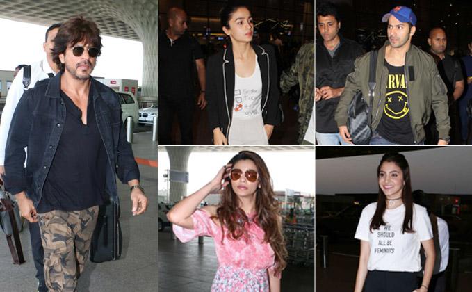 Airport Diaries: Shah Rukh Khan, Vaani Kapoor, Daisy Shah Arrive In Style!