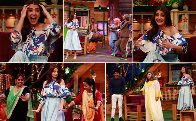 Anushka Sharma Promote Phillauri At The Kapil Sharma Show