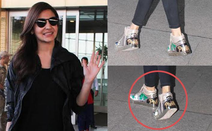 Anushka Sharma and Diljit Dosanjh Spotted at Airport