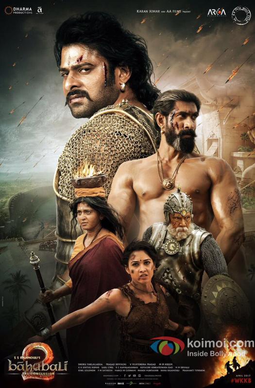 Baahubali 2 New Poster  Ft. Prabhas, Rana & Others In Fierce Avatar