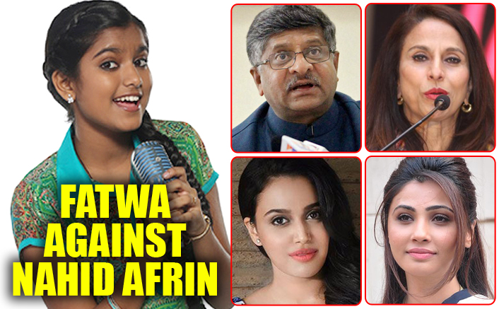 Singer Nahid Afrin not afraid of fatwa, gets support