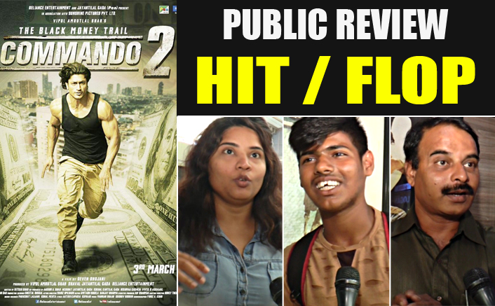 HIT OR FLOP? Public Review Of Commando 2 Movie