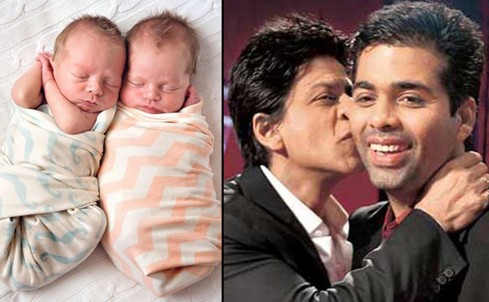 Shah Rukh Khan's Comment On Karan Johar's twins