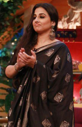 Vidya Balan, Gauahar Khan and team Begum Jaan promote the film on The Kapil Sharma Show