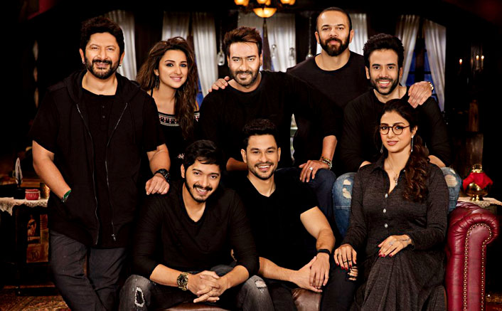 Ajay Devgn Reveals First Look Of Golmaal Again's Star Cast On Rohit Shetty's Birthday