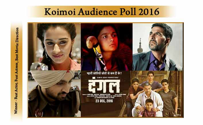 Akshay Wins Best Actor, Alia Wins Best Actress, Dangal Wins Best Direction | Audience Poll 2016