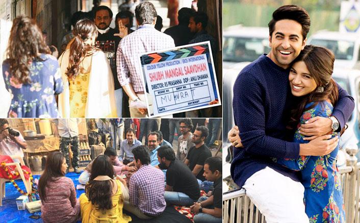 Ayushmann-Bhumi Commence Shubh Mangal Saavdhan Shoot